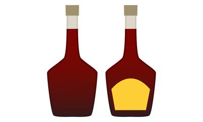 Bottle vector design