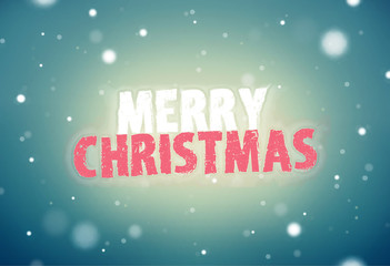 Merry Christmas modern and retro vintage mix structure background