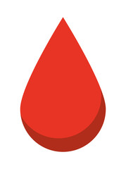 drop blood isolated icon design