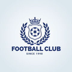 Football club logo,soccer logo,sport club brand identity