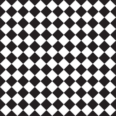 black and white checkered pattern seamless background