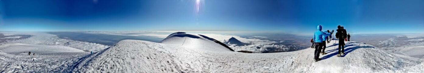 Ararat Mount climbing