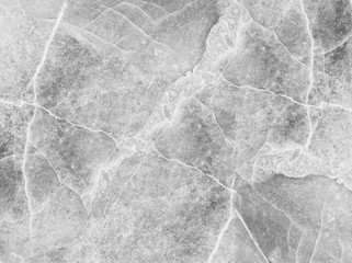 Closeup surface marble pattern at marble stone wall texture background in black and white tone