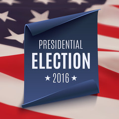Presidential Election 2016 background