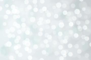 Silver Defocused Background