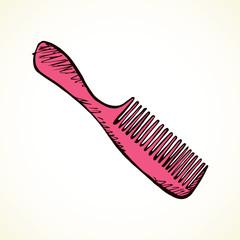 Comb. Vector drawing