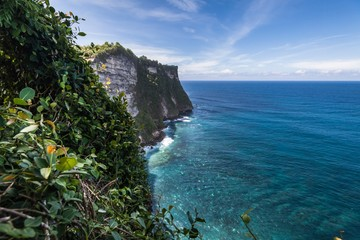 Holiday in Bali, Indonesia - Uluwatu Temple and Beautiful Cliff