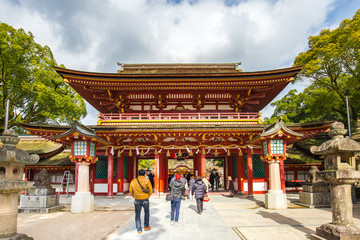 Wall Mural - The Dazaifu shrine in Fukuoka, Japan