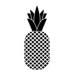 Pineapple tropical fruit.