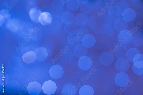 """Cobalt Blue Abstract Wallpaper: """"Abstract Glittering Cobalt Blue Bokeh Background"""