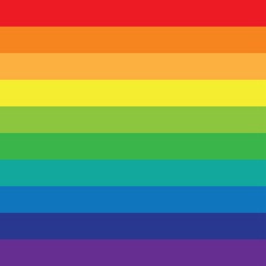 Rainbow background of colored lines