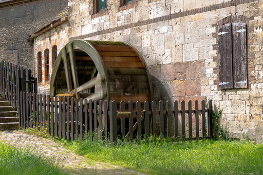 old watermill in operation