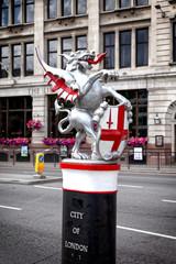 City of London Statue, England