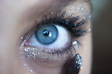 Glitter application