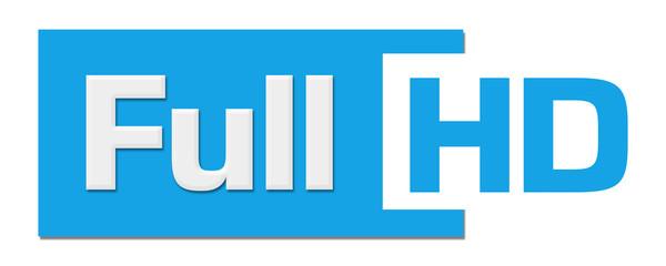 Full HD Blue Horizontal Stripe