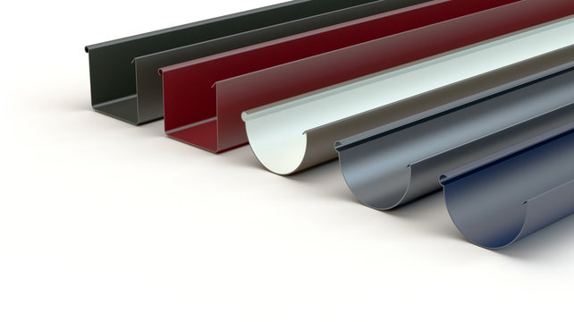Drainage gutters