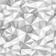 Low polygon shapes background, triangles mosaic, vector design, creative background, templates design, grey paper wallpaper