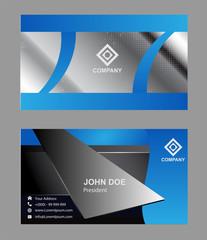 Professional and designer business card set or visiting card set