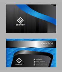 Creative and Clean Corporate Business Card Template