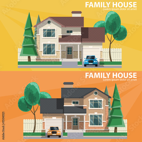 Family house. 2 houses, car and trees. h and home. Flat design ... on 3 bed design, flat pool, flat flowers, flat furniture, flat lighting, 2 bedroom design, flat space, flat chair, roofing style roof design, flat wall, lodge design, flat painting, flat decor, flat art, flat storage, flat kitchen, bungalow design, apartment design, flat houses in trinidad, flat photography,