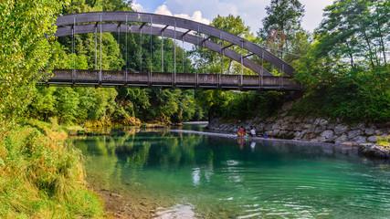 Serio river bridge