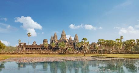 Panorama des Angkor Wat Tempels, Siem Reap, Kambodscha