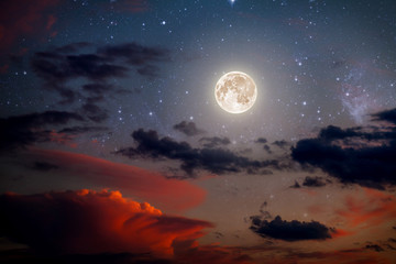 Wall Mural - backgrounds night sky