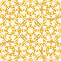 Traditional Islam Geometric pattern, seamless arabesque