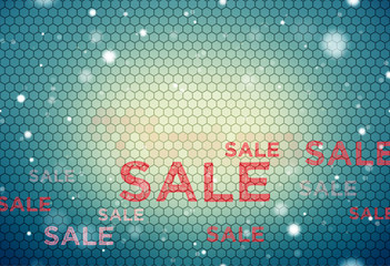 sale modern and retro vintage mix structure elements background