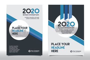 Company Document Cover Design in A4 size