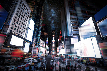 Times Square Manhattan New York Fototapete