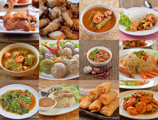 Variety of Thai Food