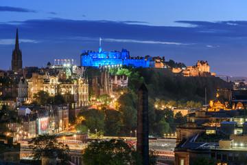 Wall Mural - View of Edinburgh Scotland UK