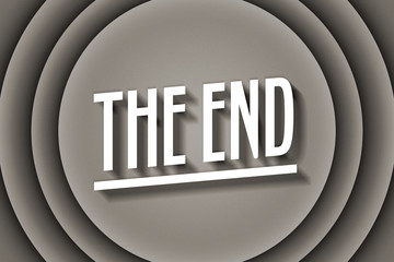 The End Old Movie Title