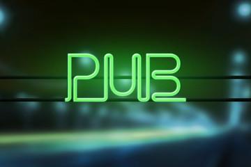 Pub Neon Light