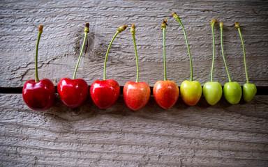 Maturing of cherry