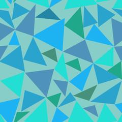 Triangle pastel seamless pattern