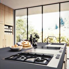 3D render- Visualisierung einer Küchenplanung