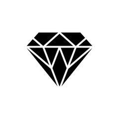 Vector of diamond. Logo. Business icon for the company jewelry / symbol. Vector illustration.