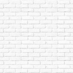 Seamless abstract square white brick wall background.