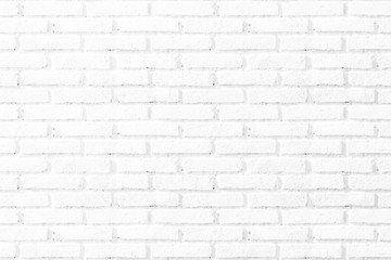 Abstract square white brick wall texture background.