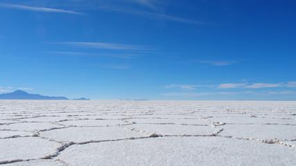 Uyuni Salt Flat in Bolivia
