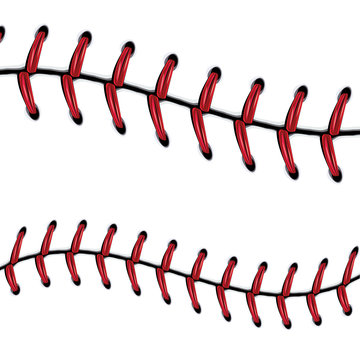 Baseball Lace Background