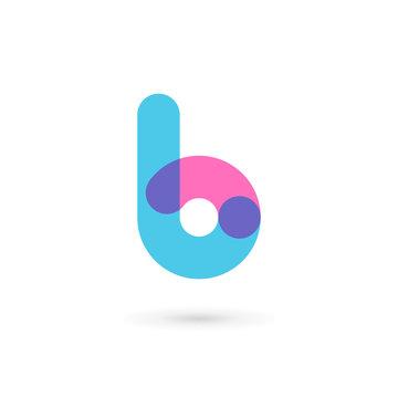 Letter B logo icon design template elements