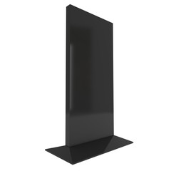 Trade show booth LCD screen stand