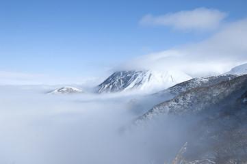 冬のくじゅう連山