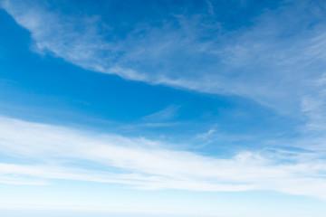Cloudscape Blue sky and white cloud