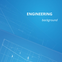 Engineering background for projects. Drawing sheet. underground pipeline plan. Driving the development of urban communications. Modern technologies in construction. Vector illustration.