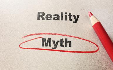 red myth circle