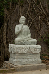 Statue of Buddha, Marble Mountains